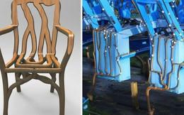 Người nông dân Anh tự tay trồng đồ nội thất: Từ hạt giống mọc lên bàn ghế, chụp đèn