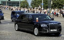 Cận cảnh siêu xe mới của ông Putin lần đầu công du nước ngoài