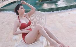 Vợ hot girl của Tiến Dũng (The Men) thường xuyên chia sẻ hình ảnh nóng bỏng