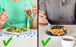 Có nên uống trong khi ăn?