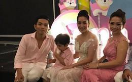 Nhan sắc trẻ trung không thua kém con dâu của mẹ chồng Khánh Thi