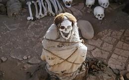 Chauchilla - nghĩa trang của những bộ hài cốt ngồi xổm còn nguyên bộ tóc suôn dài và gương mặt cười đầy vẻ phấn khích