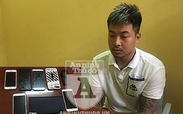Trốn nhà gây hàng chục vụ cướp giật điện thoại của phụ nữ