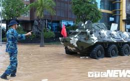 Hải Phòng yêu cầu dừng họp, huy động 4 xe thiết giáp đối phó bão số 3