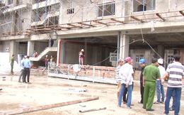 Công nhân rơi từ tầng 5 công trình xây dựng xuống đất