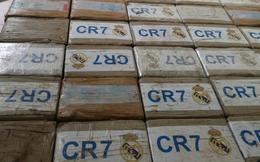 Phát hiện 270kg ma túy dán nhãn Ronaldo và logo Real Madrid