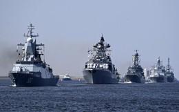 """Nga duyệt binh hải quân năm 2018: Hơn 40 tàu chiến mạnh nhất, có một """"ngôi sao"""" rất sáng!"""
