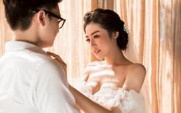 Ảnh cưới lãng mạn của Á hậu Tú Anh và chồng thiếu gia