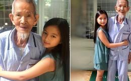 Chia sẻ câu chuyện cuộc sống của ông nội như Robison trên đảo hoang, vậy nhưng, gương mặt của cô bé đứng cạnh mới gây chú ý hơn cả