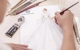 Hé lộ váy cưới lộng lẫy được thiết kế riêng cho Á hậu Tú Anh trong ngày trọng đại