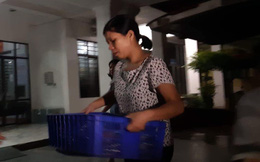 Tổ công tác dùng cơm tại chỗ, làm việc xuyên đêm tại Sở GD&ĐT Lạng Sơn