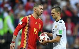 World Cup 2018: Chơi tiểu xảo với đồng đội cũ, ít phút sau Ramos lãnh kết cục đáng buồn