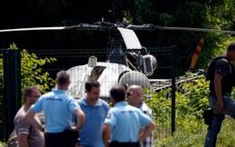 Tội phạm khét tiếng đào tẩu bằng trực thăng như phim hành động