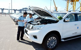 """Ô tô nhập khẩu giảm gần 4 lần, xe Thái Lan dồn dập """"đổ bộ"""" về Việt Nam"""