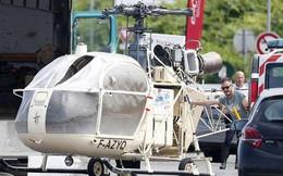 Cưỡi trực thăng, chĩa súng trường, ném bom khói cướp ngục như phim