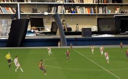 Công nghệ tái tạo một trận đấu bóng đá dưới dạng hình ảnh 3D, còn có cả khả năng thay thế công nghệ VAR đang gây ra vô vàn tranh cãi