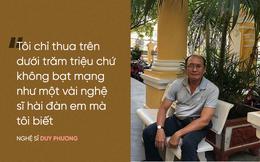 """Nghệ sĩ Duy Phương nói gì về thông tin """"tán gia bại sản"""" vì cá độ bóng đá?"""