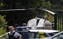 Bạn tù ghi lại cảnh vượt ngục bằng trực thăng của 'gangster' Pháp