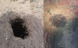 Phát hiện căn hầm dưới cái lỗ lạ sau nhà, thanh niên tò mò khai quật rồi nhận lời giải thích không mong đợi từ Internet