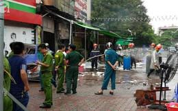 Hà Nội: Cháy cửa hàng ăn, một nạn nhân nữ đang mắc kẹt