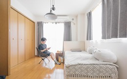 Nhờ áp dụng chỉ 1 nguyên tắc, hai chị em gái sống thoải mái trong căn hộ 25m²