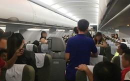 Nam hành khách đánh vào đầu nữ tiếp viên trên máy bay
