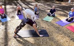 24h qua ảnh: Lớp tập yoga cùng dê tại khu nghỉ dưỡng Mỹ