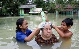 20 cảnh ngập lụt khắp thế giới: Không thiếu gì cách hay để vượt qua nghịch cảnh