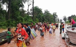 Vụ vỡ đập thủy điện Lào: Việt Nam công bố số điện thoại bảo hộ công dân