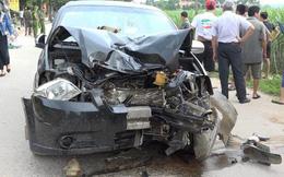 Va chạm với ô tô 4 chỗ, hai vợ chồng thiệt mạng