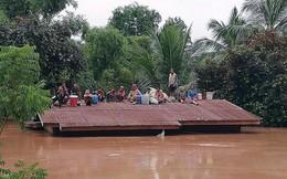 Bầu Đức ở hiện trường công nhân bị nước lũ bao vây, dự kiến đầu giờ chiều giải cứu xong