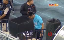 """Đội bóng Thái Lan bức xúc, đâm đơn khiếu kiện sau màn """"khóc hận"""" vì VAR"""