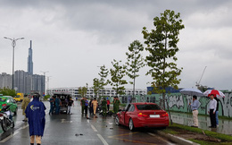 Xe BMW tông chết cô gái 20 tuổi ở Sài Gòn