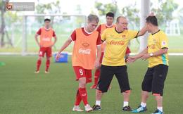 HLV Park Hang Seo nổi nóng trong buổi tập của U23 Việt Nam