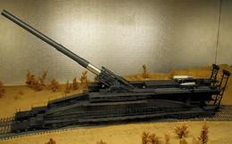 Vũ khí kỳ lạ thời Thế chiến 2: Siêu pháo Đức nặng 1.300 tấn, bắn đạn 7 tấn