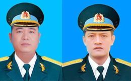 Thông tin chính thức lễ viếng, truy điệu 2 phi công hy sinh trong vụ rơi máy bay Su-22