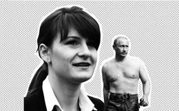 Báo Mỹ: Gián điệp xinh đẹp người Nga bị lộ vì chiếc ốp điện thoại có hình ông Putin ngực trần