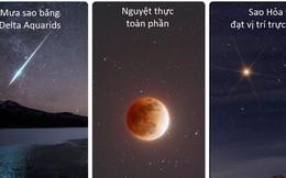 Đừng quên đêm nay: Ba hiện tượng thiên văn thú vị cùng hội ngộ