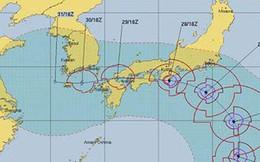 Nhật Bản chuẩn bị hứng chịu thêm một trận bão lớn