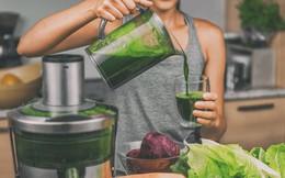 Làm sinh tố giảm cân từ rau lá xanh, giúp giảm mỡ cực nhanh lại vô cùng thơm ngon, dễ uống