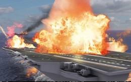 Không cần Mỹ ra tay, 1 tên lửa BrahMos đủ khiến tàu sân bay mới của Trung Quốc đi tong