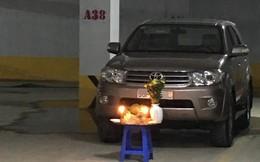 Bức ảnh dưới hầm xe tưởng bình thường mà hóa bất thường: Một hành động quá nguy hiểm