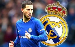 Real cho ngôi sao Hazard 'leo cây' vì lý do bất ngờ