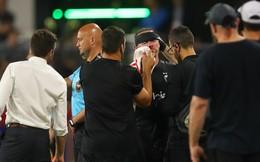 Rooney đổ máu, khâu 5 mũi trong ngày ghi bàn đầu cho CLB Mỹ