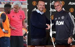 """Nội bộ Man United rúng động, Mourinho """"đại chiến"""" với sếp lớn"""