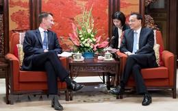 """Ngoại trưởng Anh ca ngợi """"kỷ nguyên vàng"""" trong quan hệ với Trung Quốc"""