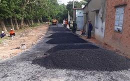 Vụ bỏ 200 triệu làm đường dân sinh: Phá đường nhựa quay về đường đất