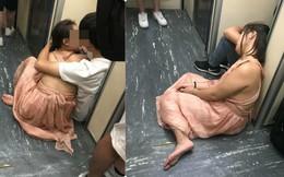 Trước cửa nhà vệ sinh trên tàu ở Đài Loan, hành động của cặp đôi người Việt khiến tất cả xấu hổ