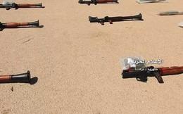 Quân đội Syria chiếm giữ kho vũ khí khổng lồ của phe thánh chiến ở Daraa