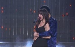 Hari Won sung sướng khi được trai đẹp ôm ấp